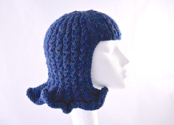 Pattern Wavy Hat Wig Fun Chemo Cap Fancy Dress Or By
