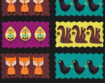 Norwegian Woods Panel in Forest  from Michael Miller Fabrics