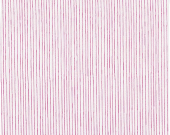 Pencil Stripe in Fuschia  from Stof of Denmark