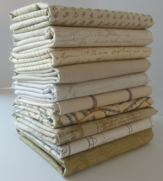 Neutral Love Fat Quarter Bundle