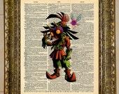 Legend of Zelda Skull Kid Dictionary Art