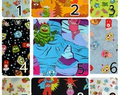 Yo Gabba Gabba  fabric lovey minky silky taggy carry blanket, large or small blanket/ seat/stroller straps.