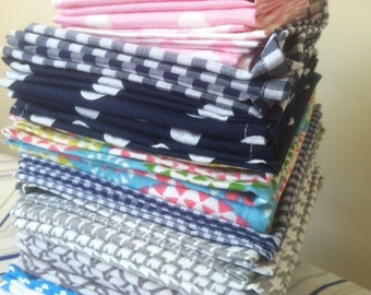 Bulk Family Pack Cloth Napkins, you choose the quantity and the size, by CHOW with ME