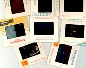 Lot of 20 Vintage Photograph Slides, Assorted Subjects, Art, Family Vacations, Vintage Film Slides, 35 MM Color, Kodachrome Kodak