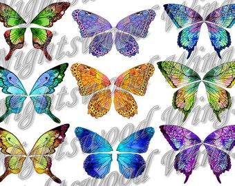 Instant Download OOAK Fairy Pixie Bear Fantasy Wing sheet 08