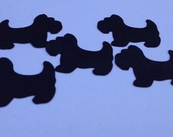 Scotty Dog Confetti/Party Decor/Baby Shower