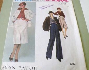 Vogue PARIS Original 1283 JEAN PATOU Uncut size 10