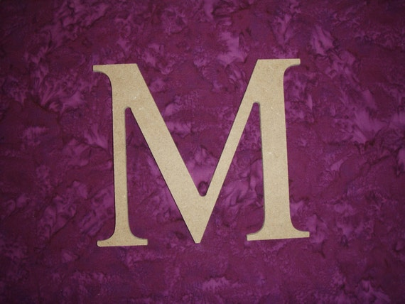 greek wooden letters letter m mu symbol unfinished wooden letters 12 14083 | il 570xN.504985702 632b