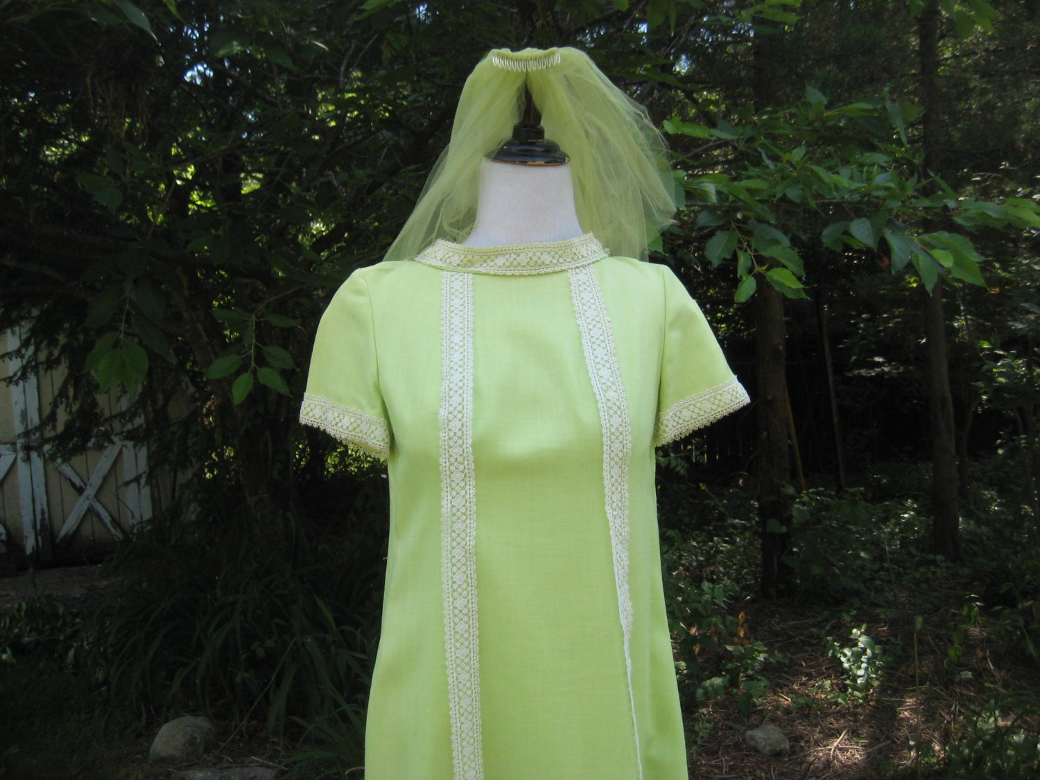 Lime Green Wedding Dress Bridal Dress Bridesmaid Dress