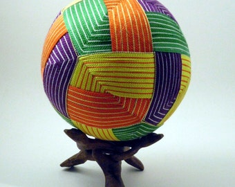 Japanese Temari Ball - Origami Design