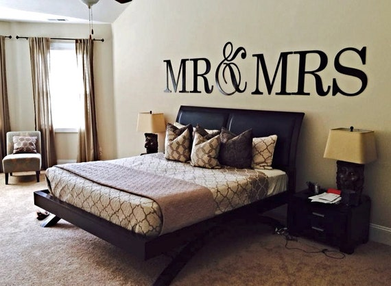 Items Similar To Wedding Signs, Wedding Decor, Mr And Mrs