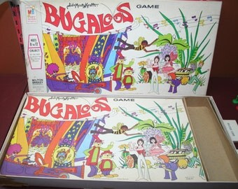 Vintage / Hard to Find Extra Groovy and Mod 1971 BUGALOOS Game Sid & Marty Krofft by Milton Bradley