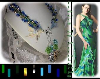 """Necklace """"Fleurs de Printemps"""""""