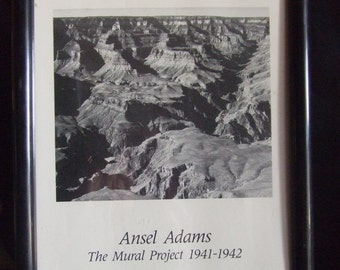 lithograph ansel adams the mural project 1941 1942 On ansel adams the mural project 1941 to 1942