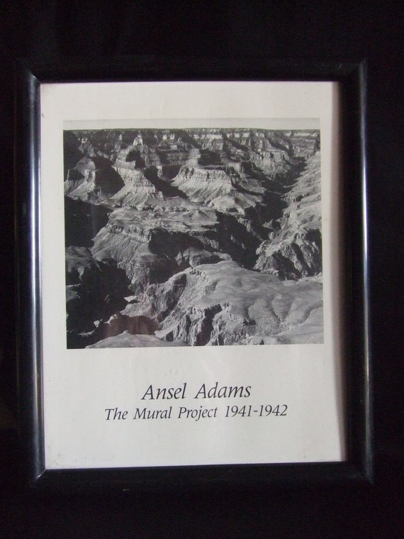 lithograph ansel adams the mural project 1941 1942