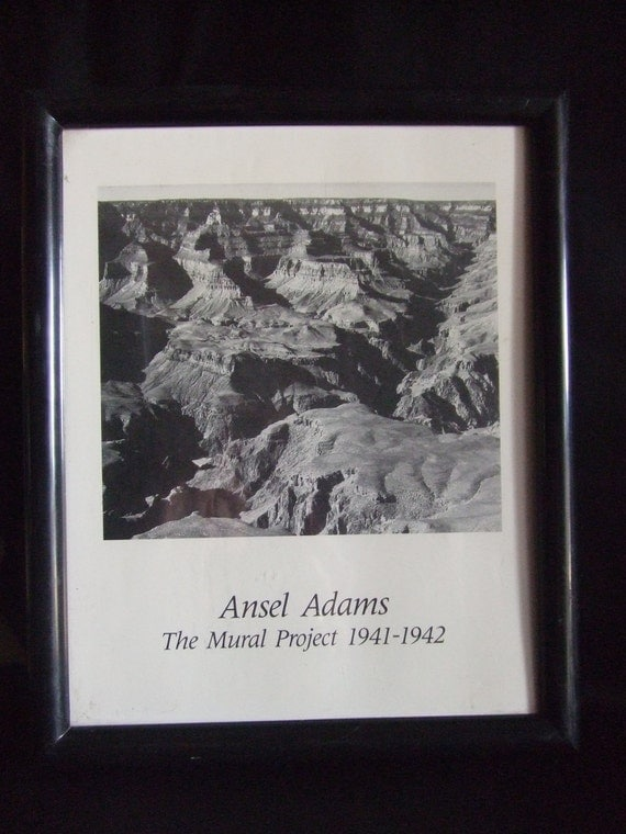 lithograph ansel adams the mural project 1941 1942 ForAnsel Adams The Mural Project