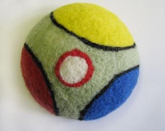 Deco dots pincushion no 3