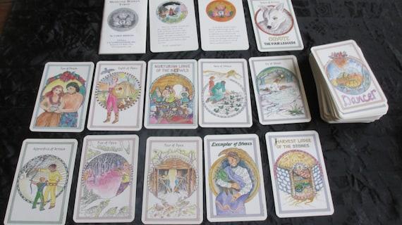 Vintage Medicine Woman Tarot