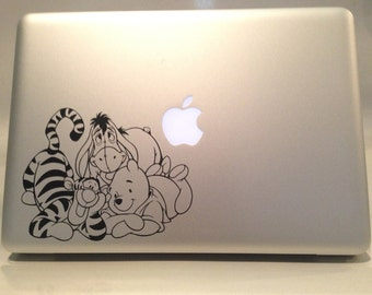 Winnie the Pooh, Tigger and Eeyore Vinyl Decal