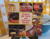 Vintage 1960 Nordic Ware Unusual Old World and American Recipe Booklet