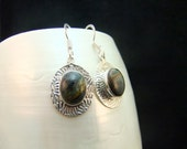 Pietersite Silver Hanmade Dangle Earrings