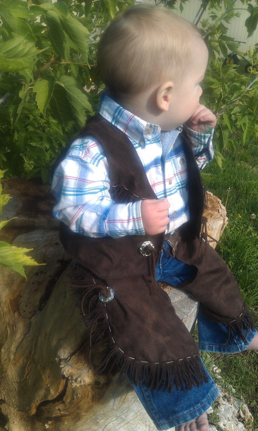 infant baby cowboy cowgirl chaps toddler cowboy cowgil