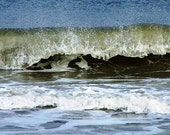 Printable, Ocean Wave Dance, 4 Sizes, Nature Photography, Photo Art