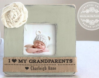 Grandma Gift, Grandmother Grandparents, Personalized Picture Frame GIFT