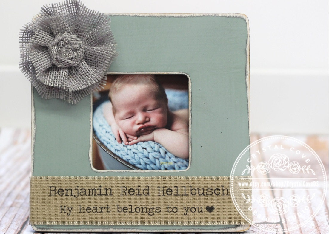 Baby Gifts For New Moms : Gift for new mom baby birth boy picture frame first