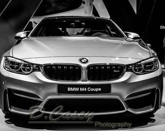 BMW M4, sports car photos, master bedroom wall décor, wall decor for living room, wall decoration ideas,gift for car lovers,small wall decor