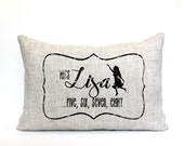 "dance teacher gift, dance pillow, name pillow, dance teacher pillow, personalized pillow, mother's day gift ""The Miss Lisa""  - Great Gifts for Dance Teachers - Etsy Finds"