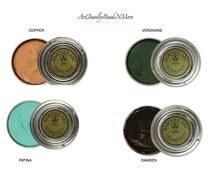 Choice 1.5oz Gilder's Paste - COPPER, VERDIGRIS, PATINA, DAMSoN - Metal Wax - Metal - Polish, colorants, treatments - stamping supplies