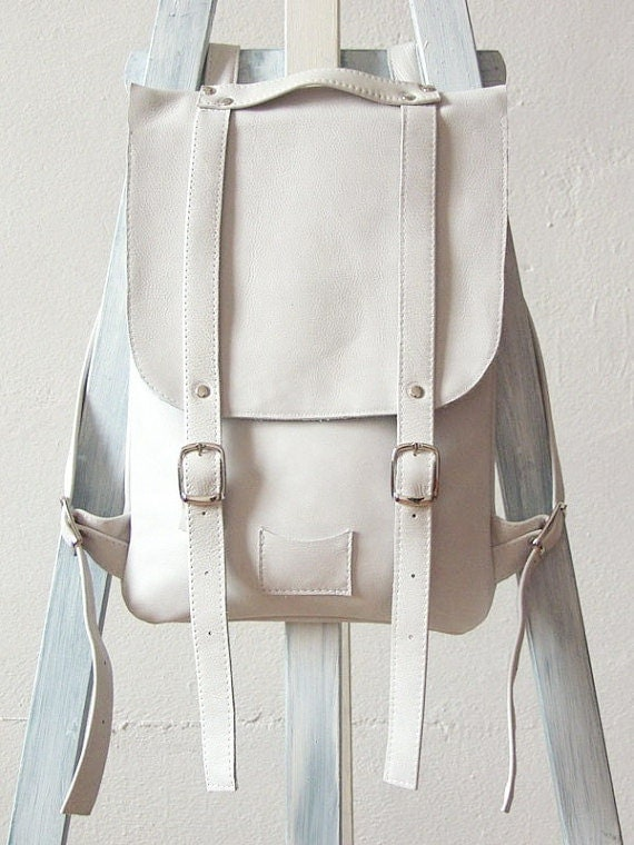 Find great deals on eBay for white leather backpack. Shop with confidence.