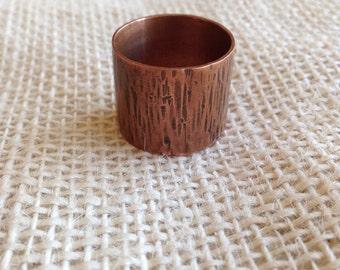 Copper barrel ring