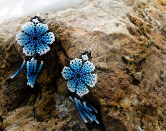 Huichol Earrings