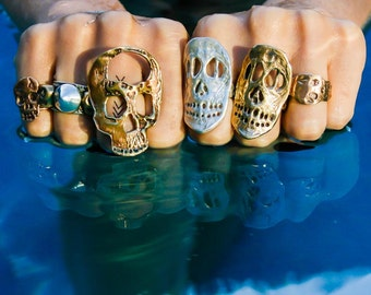 McKinney (not McQueen) Skull Ring