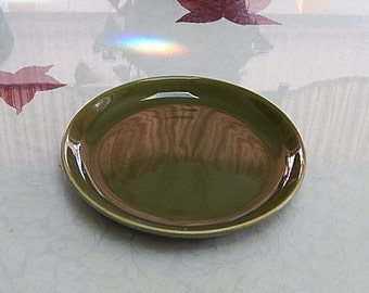 Bruche/Bauer 10 1/2 Inch Dinner Plate 1940s
