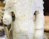 2ft Chinese Granite KWAN YIN Statue Goddess of Compassion Vintage Artifact