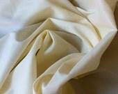 Cream Stretch Lining Fabric- (by the yard)