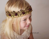 Angeline Tieback (ribbon tie headband)