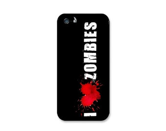 I Love Zombies Case Design Choose iPhone 4 / 4s, iPhone 5 / 5s or iPhone 5c.
