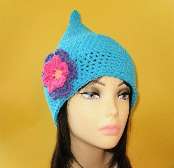 Crochet Pattern PDF Cotton Elf Hat. Beanie. All Sizes