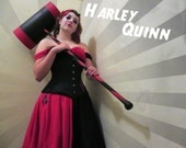 Harley Quinn cosplay bundle- made to order