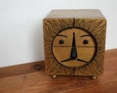 Vintage Surreal Lion Music Box with Drawers