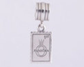 POSTAGE STAMP from LONDON .925 Sterling Silver European Charm Bead
