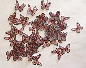 Monarch Vellum Butterflies