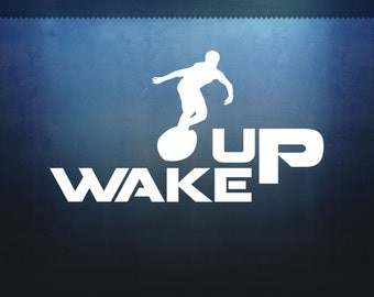 Wake Surfer Decal
