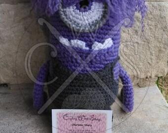 Despicable Me Inspired Amigurumi Crochet Evil Minion Doll