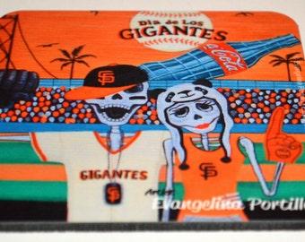 Dia de Los Muertos Gigante Coaster by Evangelina Portillo