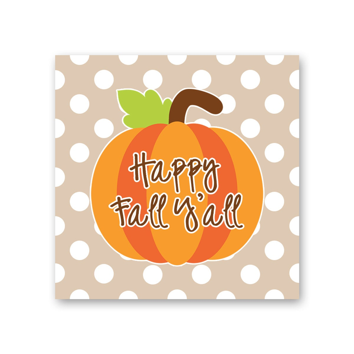 It is a picture of Geeky Happy Fall Yall Printable